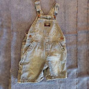 OshKosh Bgosh Striped Baby Overalls